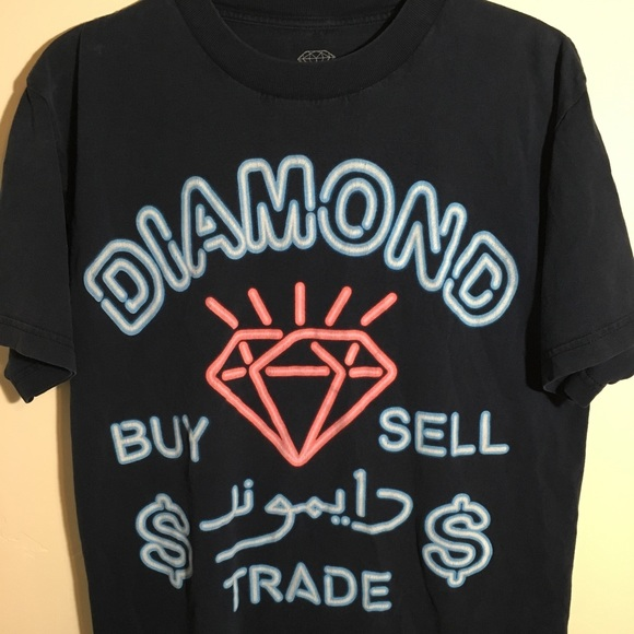 Diamond Supply Co. Other - Diamond brand neon sign shirt